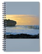 Sunlit Waves - Kauai Dawn Spiral Notebook