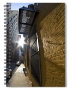 Sunny Alley Spiral Notebook