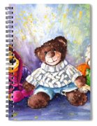 Sunny And Caramel And Truffle Mcfurry Spiral Notebook