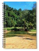 Sunny Beach Tioman Island Spiral Notebook