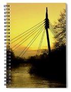 Sunny Bridge Spiral Notebook