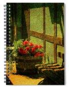 Sunny Corner Spiral Notebook