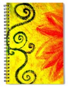 Sunny Day Red Spiral Notebook