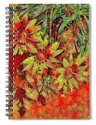 Sunny Day Yellow Daisies  Spiral Notebook