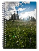 Sunny Meadows  Spiral Notebook