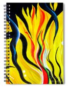 Sunny Morning, Energy. Abstract Art Spiral Notebook