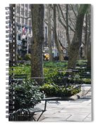 Sunny Morning In The Park Spiral Notebook