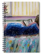 Sunny Reading Spiral Notebook