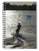 Sunny Ski Spiral Notebook