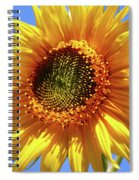 Sunny Sunflower Spiral Notebook