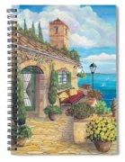 Sunny Villa Spiral Notebook