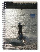 Sunny Waves Spiral Notebook