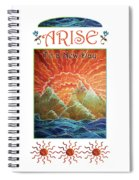 Sunrays - Arise New Day Spiral Notebook