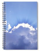 Sunrays Spiral Notebook