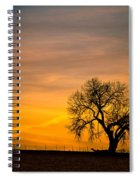 Sunrise 1-27-2011 Spiral Notebook