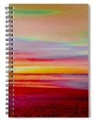 Sunrise 4 Spiral Notebook
