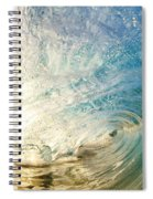 Sunrise And Wave Spiral Notebook