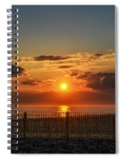 Sunrise - Asbury Park Spiral Notebook