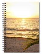 Sunrise At Akumal Sur 1 Spiral Notebook