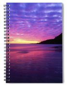Sunrise At Bray Head, Co Wicklow Spiral Notebook