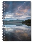 Sunrise At Chocorua Lake -2 Spiral Notebook