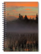 Sunrise At Connery Pond 1 Spiral Notebook