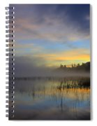 Sunrise At Connery Pond 3 Spiral Notebook
