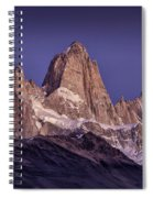 Sunrise At Fitz Roy Patagonia 7 Spiral Notebook