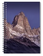 Sunrise At Fitz Roy Patagonia 8 Spiral Notebook
