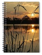 Sunrise At Grayton Beach Spiral Notebook