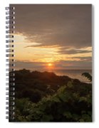Sunrise At Montauk Point State Park Spiral Notebook