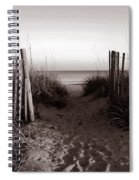 Sunrise At Myrtle Beach Sc Spiral Notebook