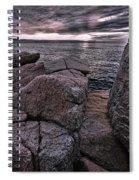 Sunrise At Otter Cliffs #5 Spiral Notebook