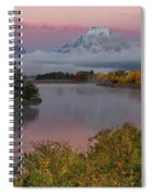 Sunrise At Oxbow Bend Spiral Notebook