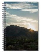 Sunrise At Sabino Canyon Spiral Notebook