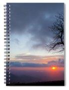 Sunrise At Saddle Overlook Spiral Notebook