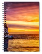 Sunrise At The Arch Spiral Notebook