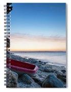 Sunrise At The Beach Spiral Notebook