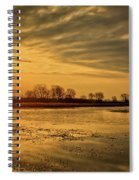 Sunrise At The Big Marsh Spiral Notebook