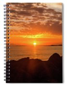 Sunrise At The Jetty Spiral Notebook