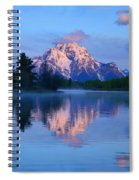 Sunrise At The Oxbow Spiral Notebook