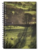 Sunrise At The Sheep Farm Spiral Notebook