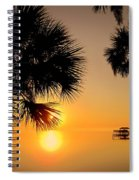 Sunrise At The Space Coast Fl Spiral Notebook