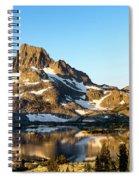 Sunrise At Thousand Island Lake Spiral Notebook
