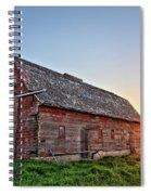 Sunrise Barn Spiral Notebook