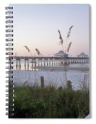 Sunrise Beyond Pier Spiral Notebook
