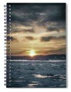 Sunrise Boat Spiral Notebook