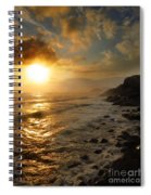 Sunrise By The Rocks Spiral Notebook