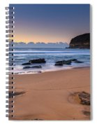 Sunrise By The Seaside Spiral Notebook