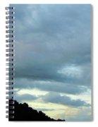Sunrise Clouds Spiral Notebook